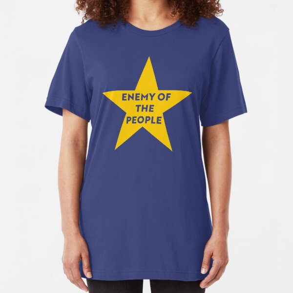 NDVH Remainer Enemy of the People Slim Fit T-Shirt