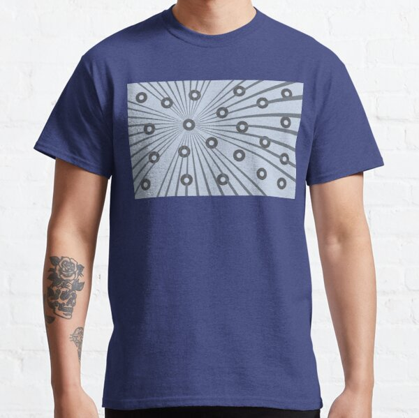 Abstract in Grey and Blue Classic T-Shirt