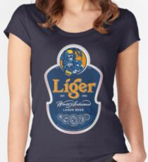 Liger Beer Women's Fitted Scoop T-Shirt