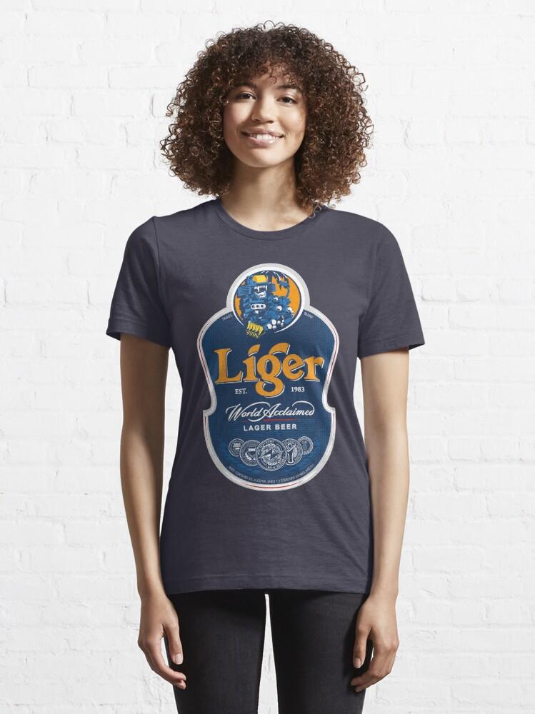 Alternate view of Liger Beer Essential T-Shirt