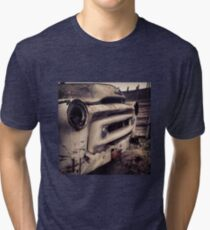 Classic Truck Abandoned in Washington State Tri-blend T-Shirt