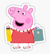 Peppa Pig Stickers Redbubble