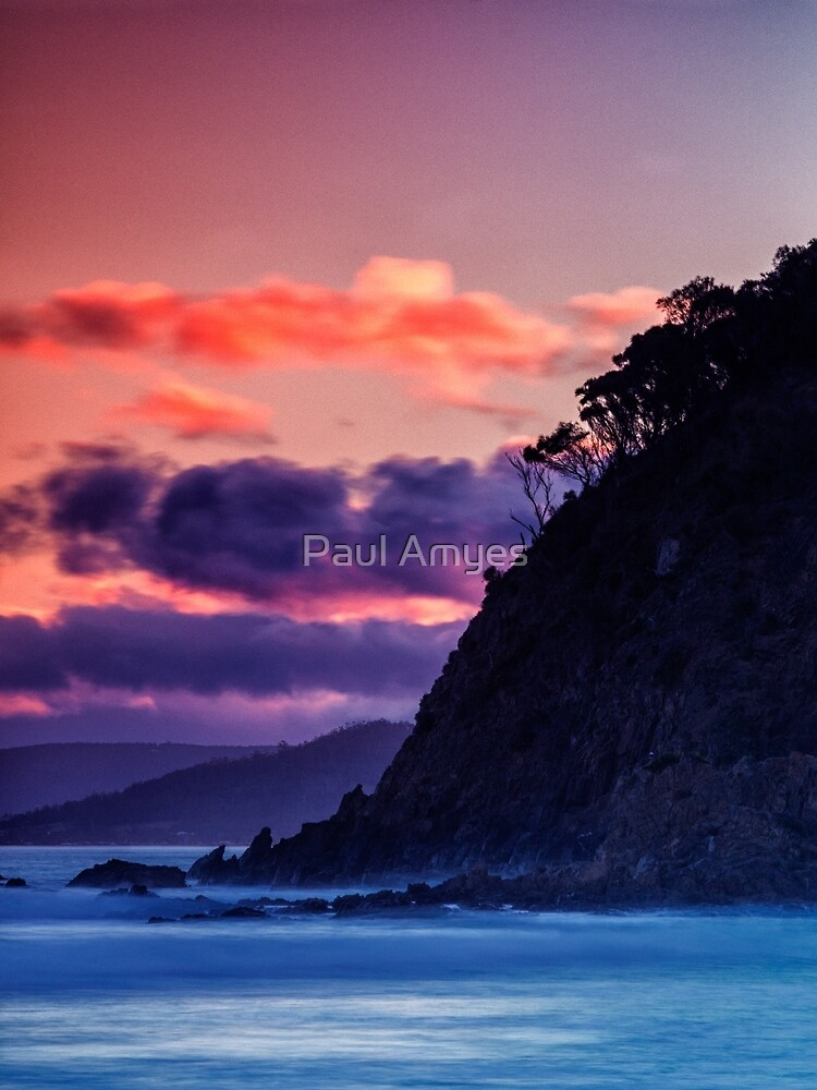 Park Beach At Sunset. by AmyesPhotograph
