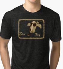 Zen Dog Tri-blend T-Shirt