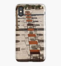 Sun and Shadow, The Getty Center, Los Angeles California iPhone Case