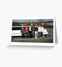 Limo Greeting Card