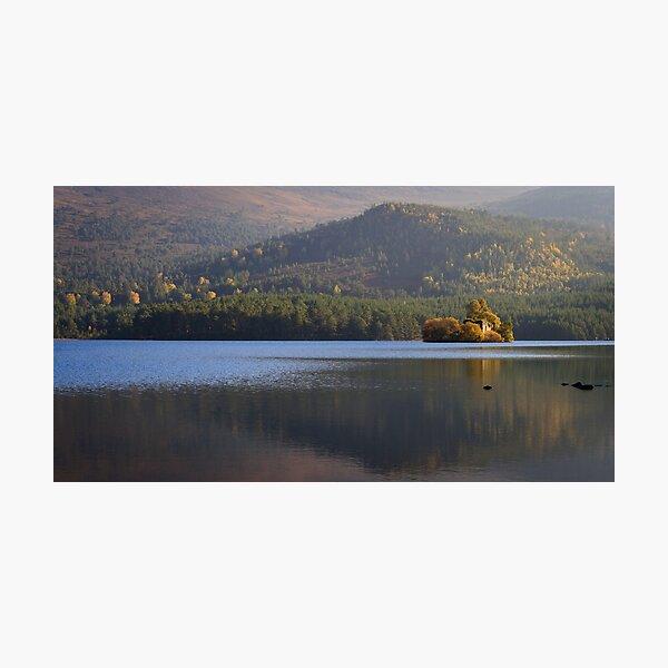 Loch an Eilein View Photographic Print