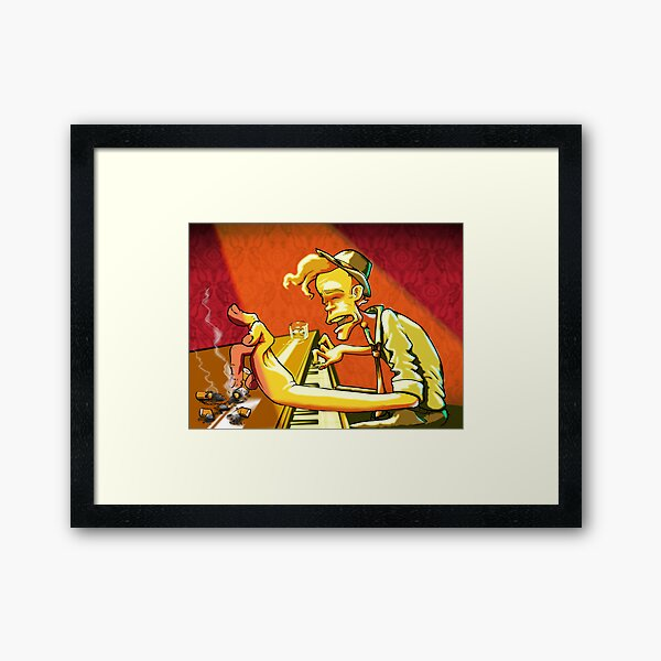 The Piano Has Been Drinking 3 Framed Art Print