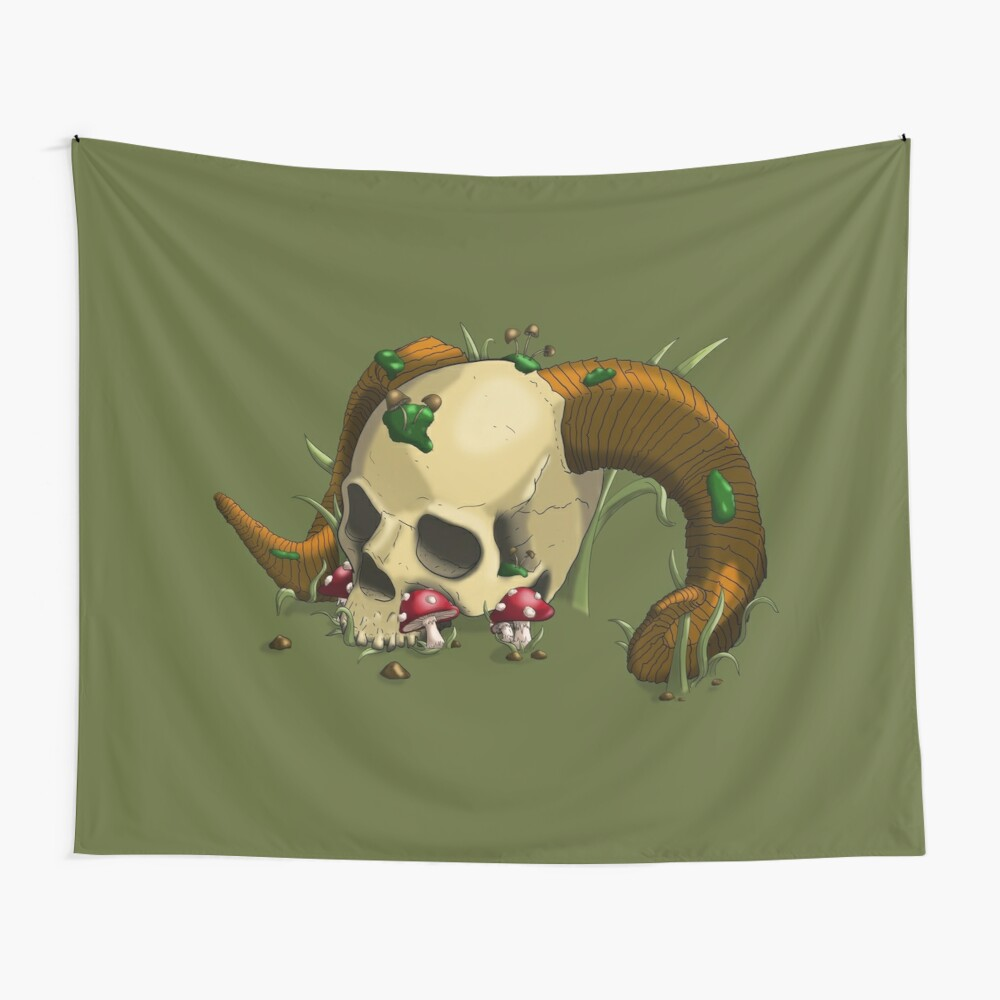 Rest for the Wicked Wall Tapestry