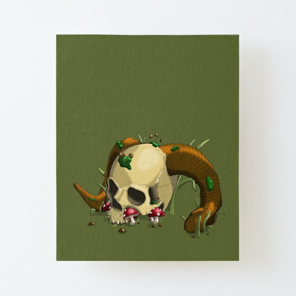 Rest for the Wicked Canvas Mounted Print