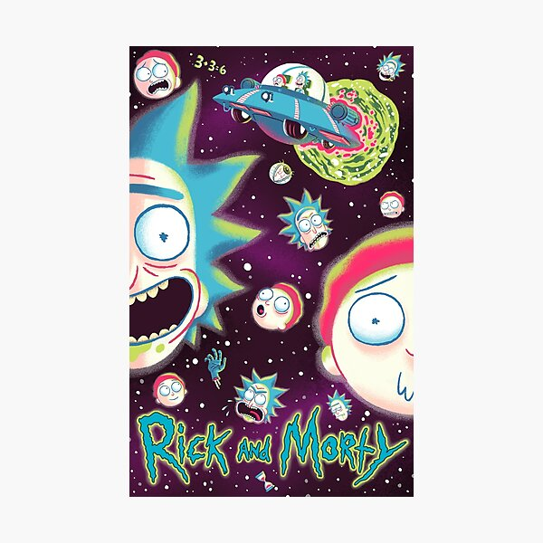 Rick et Morty Galaxy Impression photo