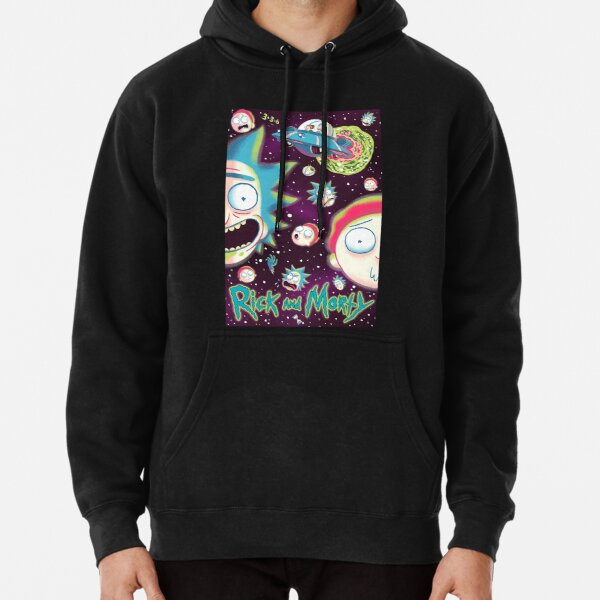Rick and Morty Galaxy Pullover Hoodie