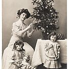 Victorian Christmas Ladies by GUTHRIE TERRITORIAL FOUNDATION