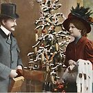 Victorian Couple Christmas by GUTHRIE TERRITORIAL FOUNDATION