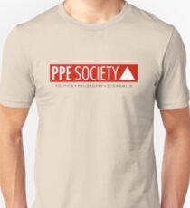 PPE large logo (on light) Unisex T-Shirt