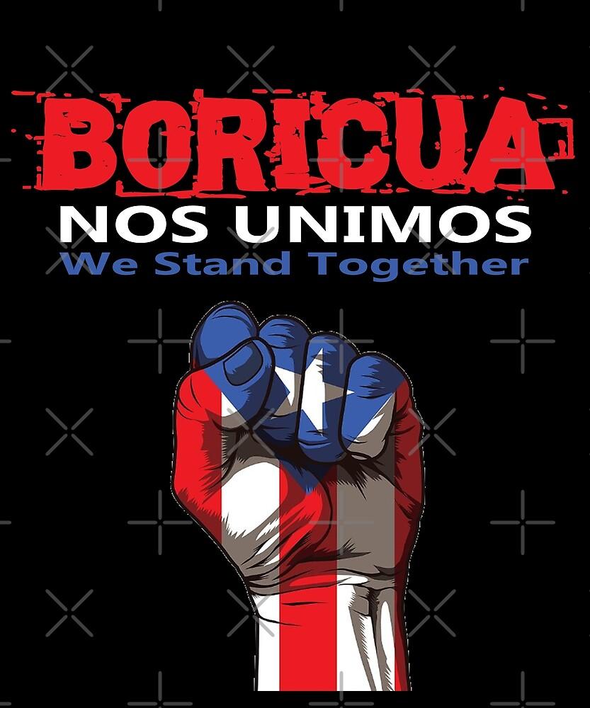 Boricua Nos Unimos Design by Michael Branco