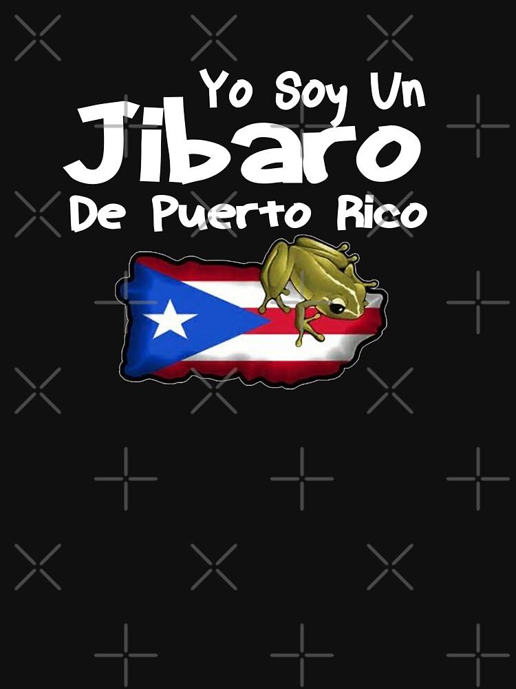Yo Soy Un Jibaro De Puerto Rico Design by Mbranco