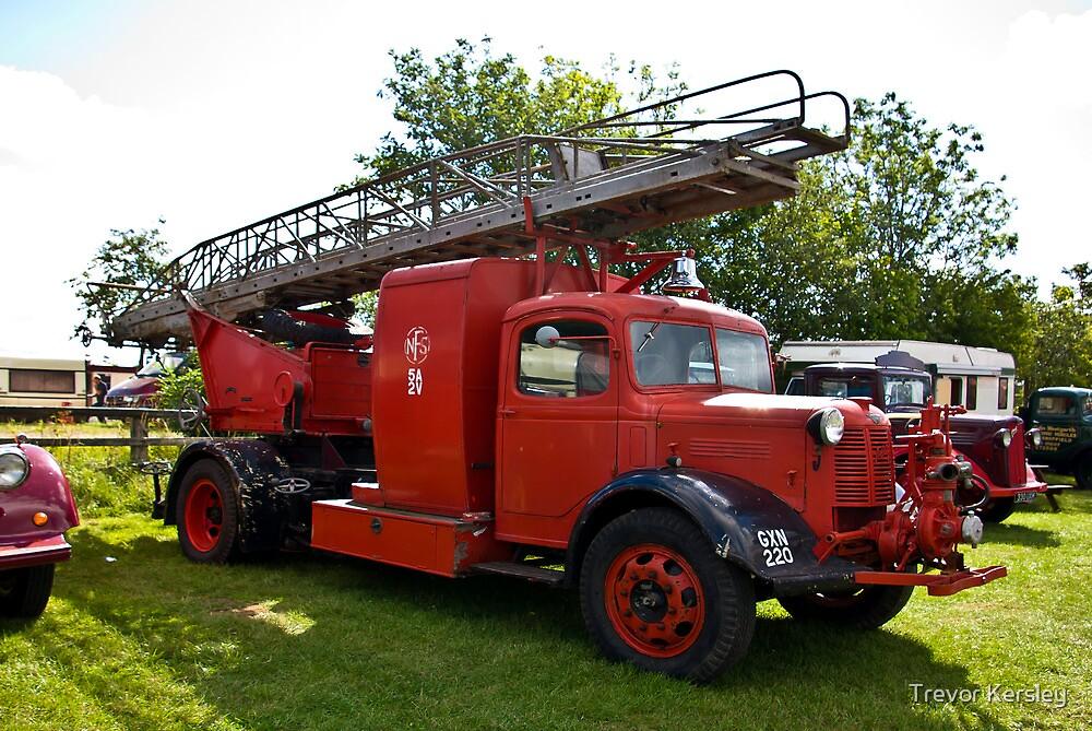 Austin A4 Fire Engine by Trevor Kersley