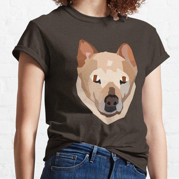 Custom Chow mix pet portrait (Boo) Classic T-Shirt