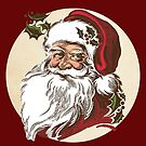 Vintage Santa by GUTHRIE TERRITORIAL FOUNDATION