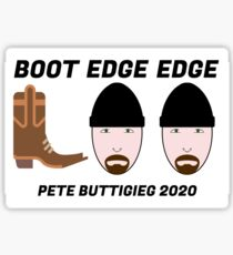 Boot Edge Edge Sticker