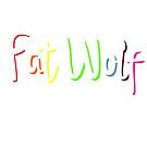 Fat Wolf Rainbow by danbadgeruk