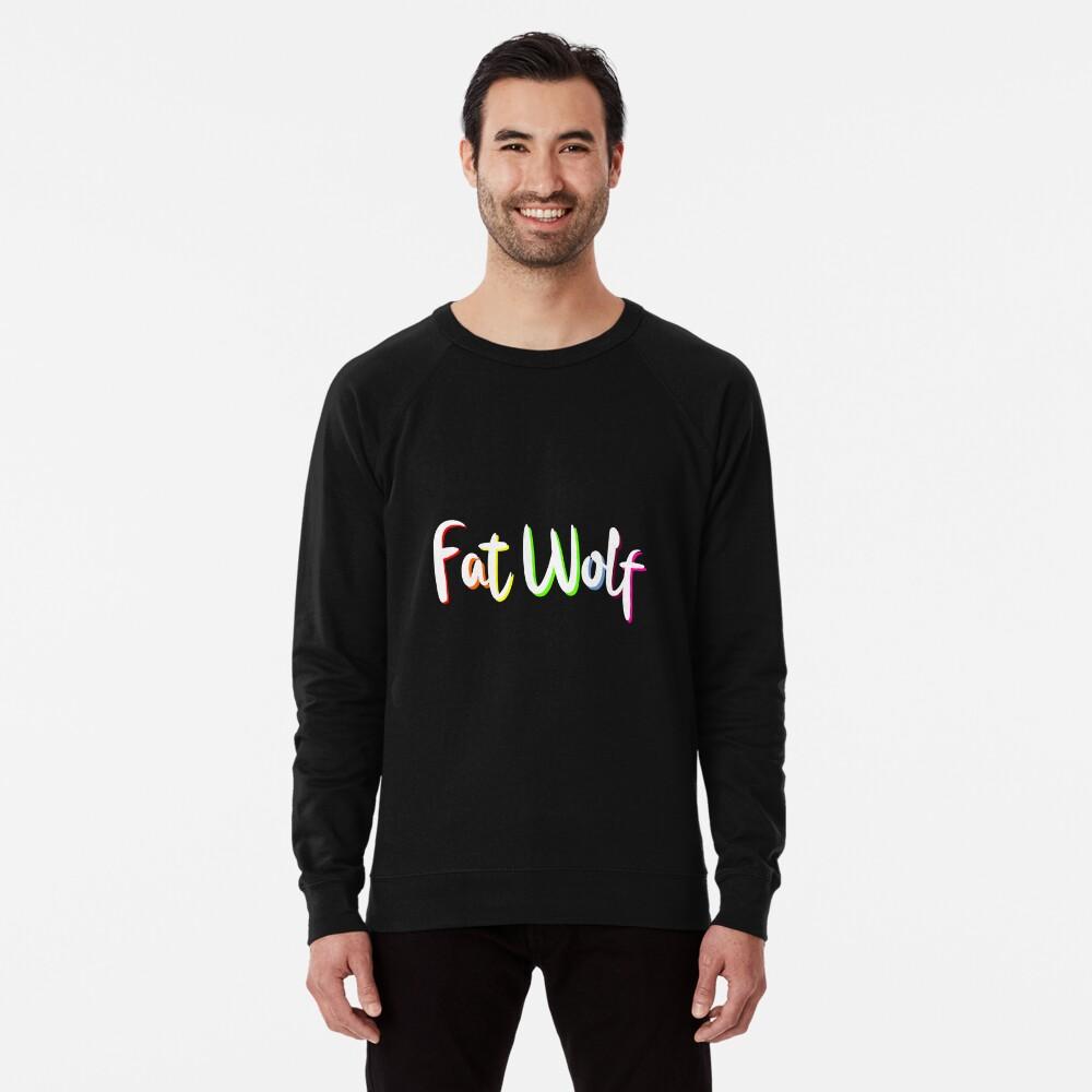 Fat Wolf Rainbow Lightweight Sweatshirt