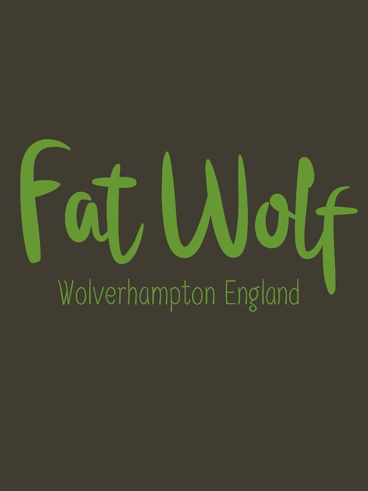 Fat Wolf Logo (Green) by danbadgeruk