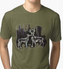 Open at the Close Tri-blend T-Shirt