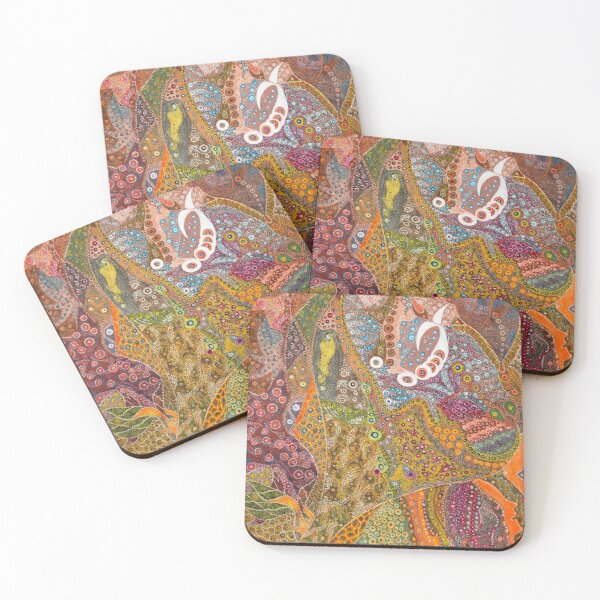 Seafood Bouquet  Coasters (Set of 4)