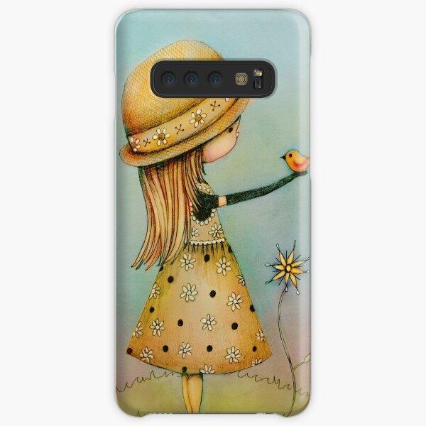 summer days are golden Samsung Galaxy Snap Case