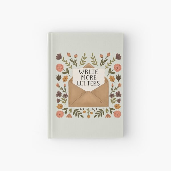 Write More Letters Hardcover Journal