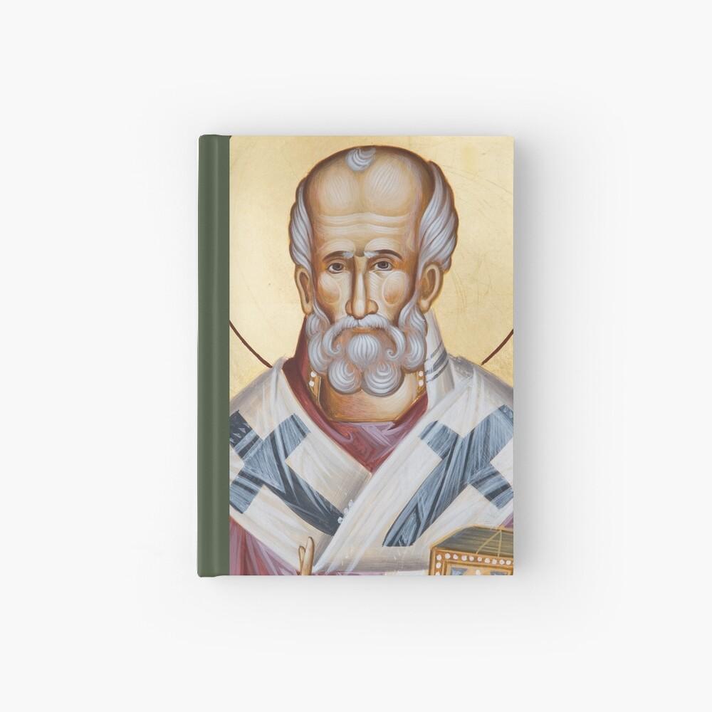 St Nicholas of Myra Hardcover Journal