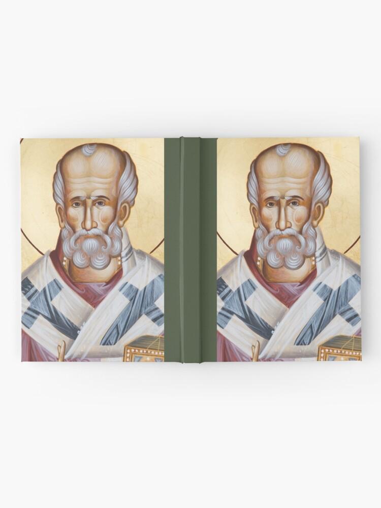 Alternate view of St Nicholas of Myra Hardcover Journal