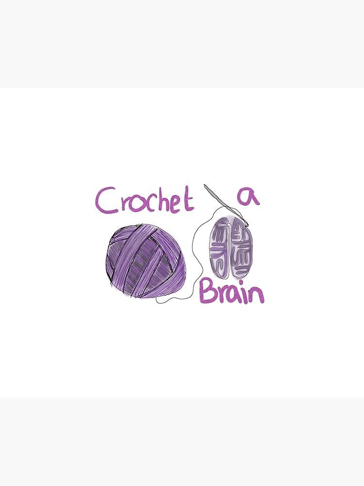 Crochet-a-Brain by thepurplelilac