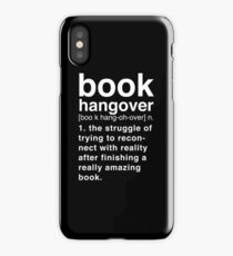 Black Book Hangover Meaning iPhone Case