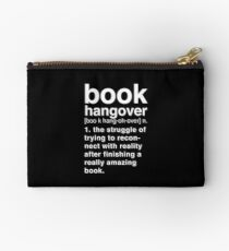 Black Book Hangover Meaning Studio Pouch