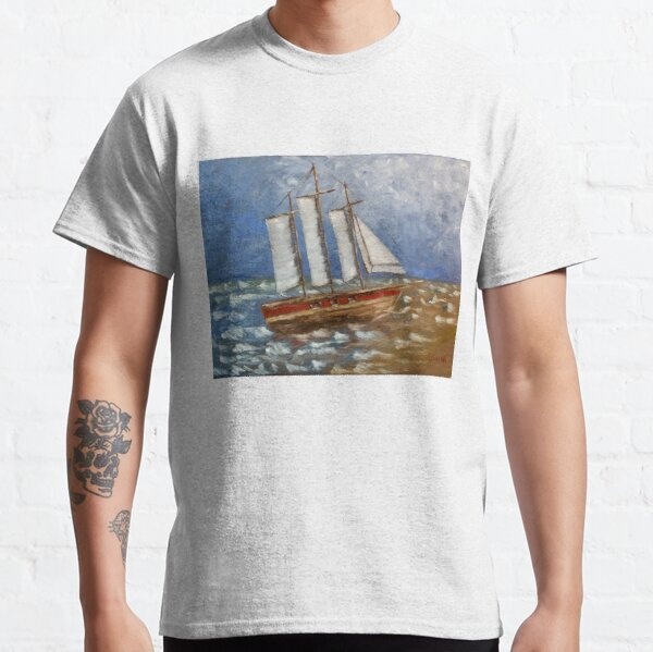 White Cap (oil on canvas) Classic T-Shirt