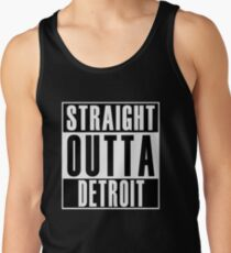 Straight Outta Detroit Tank Top