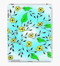 Yellow Blooms iPad Case/Skin
