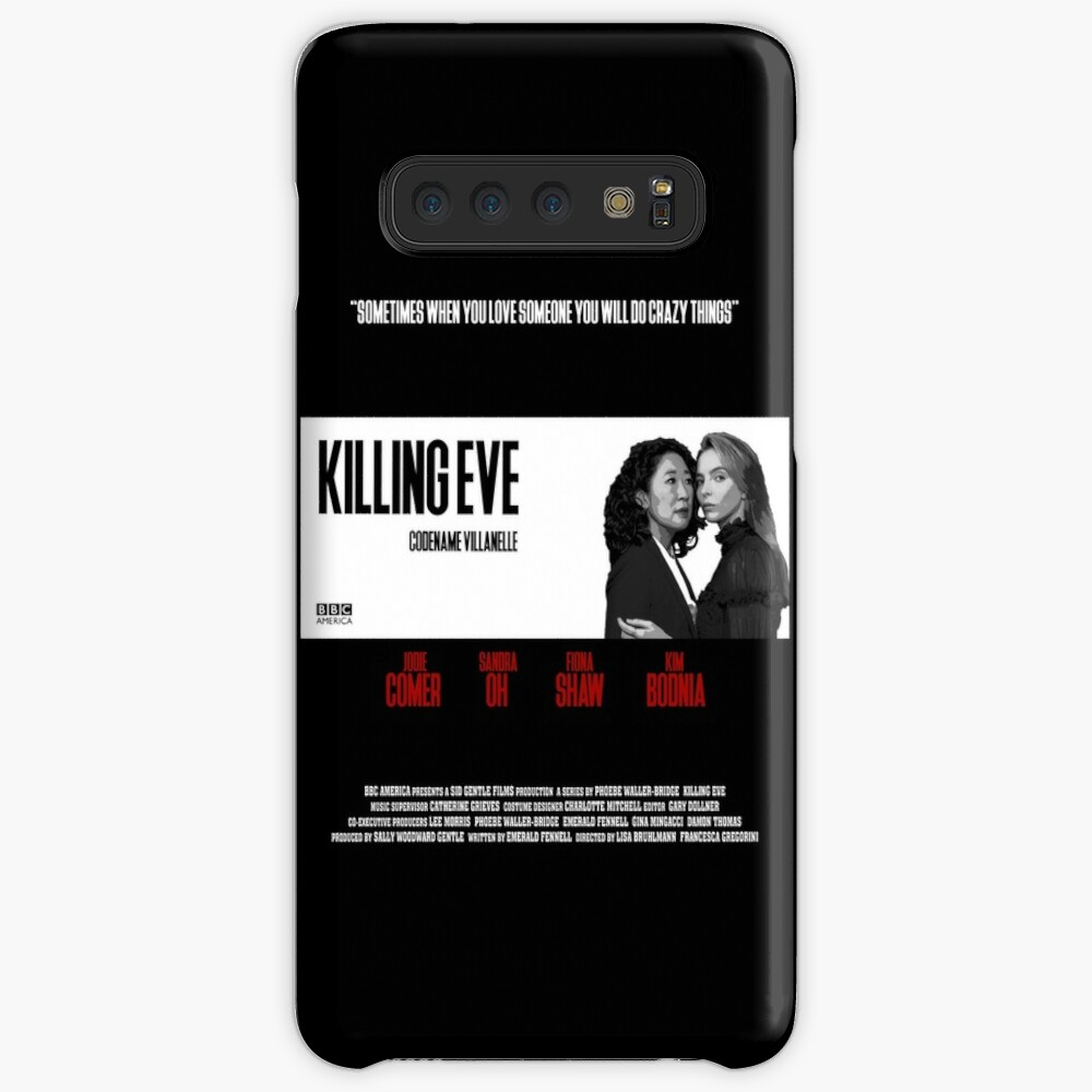 Killing Eve Movie Poster Case & Skin for Samsung Galaxy