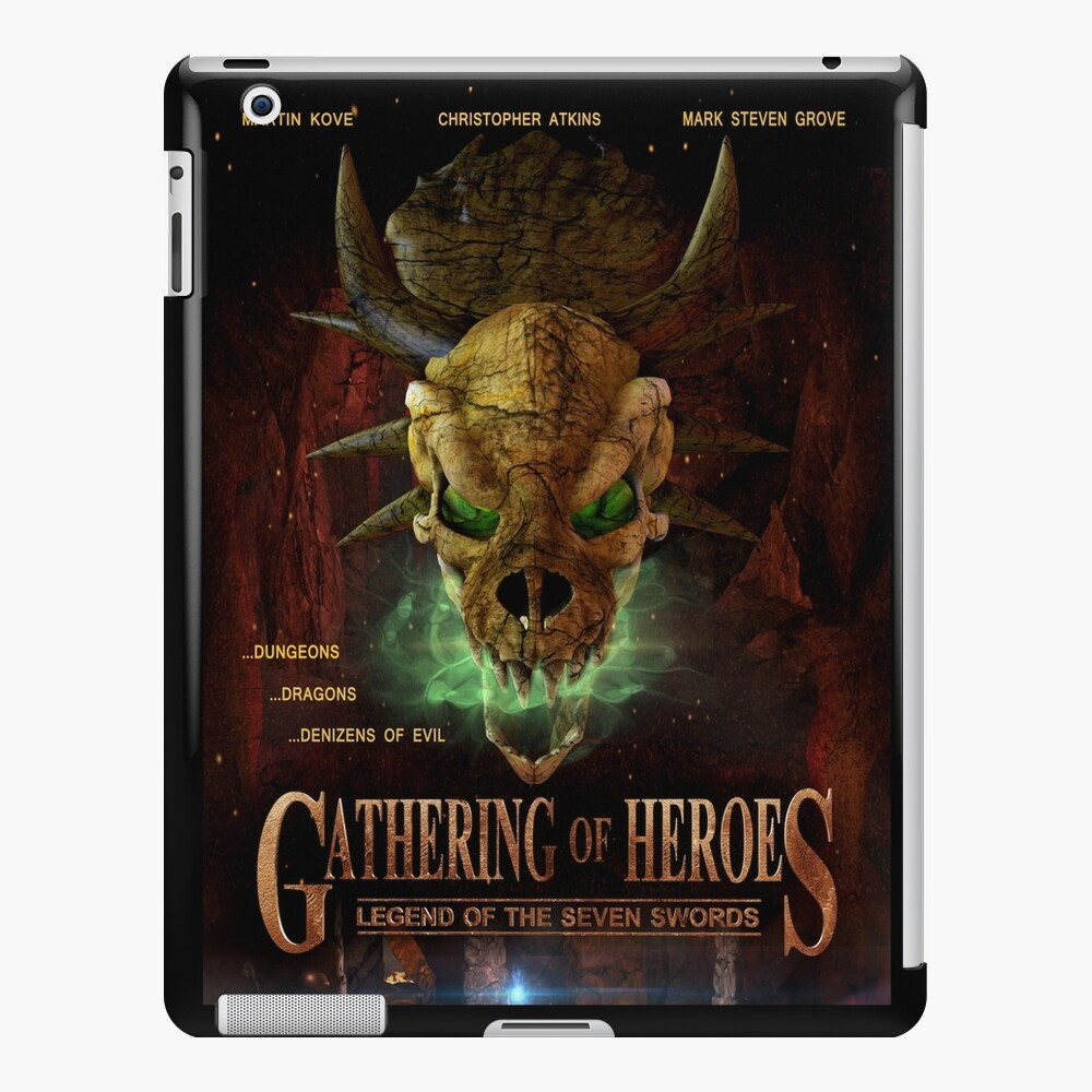 Gathering of Heroes: Legend of the Seven Swords Dragon Poster iPad Case & Skin
