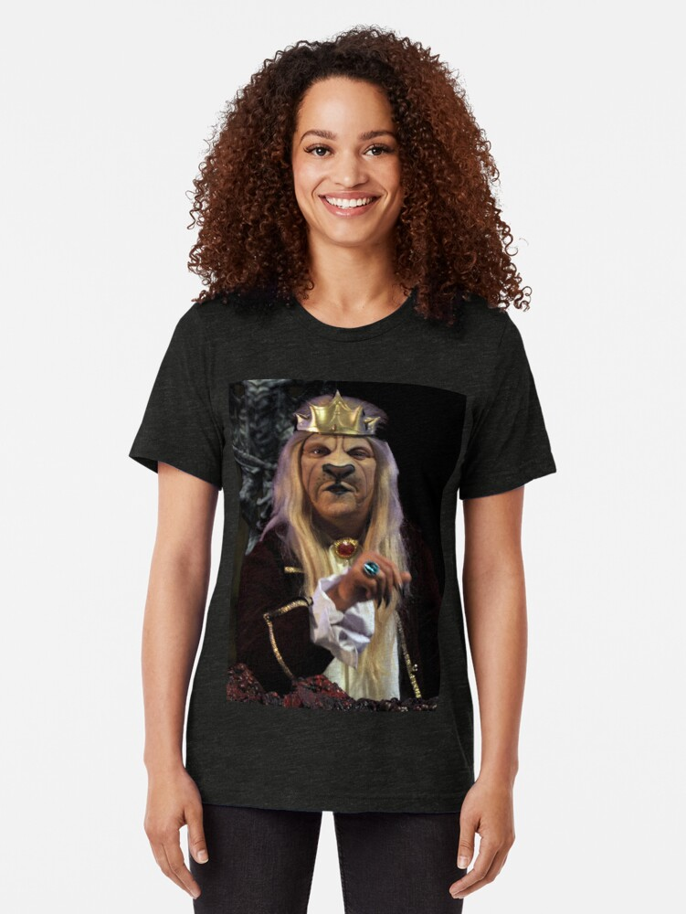 Alternate view of The Lion King in Gathering of Heroes: Legend of the Seven Swords Tri-blend T-Shirt