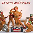 To Serve and Protect by DebbieCHayes