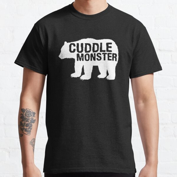 Cuddle Monster Bear Silhouette Fun Novelty Classic T-Shirt