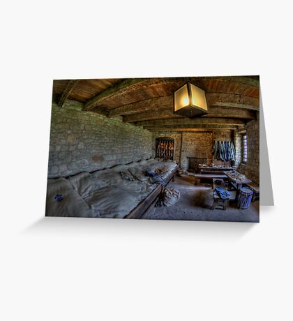 Sleeping Quarters Greeting Card