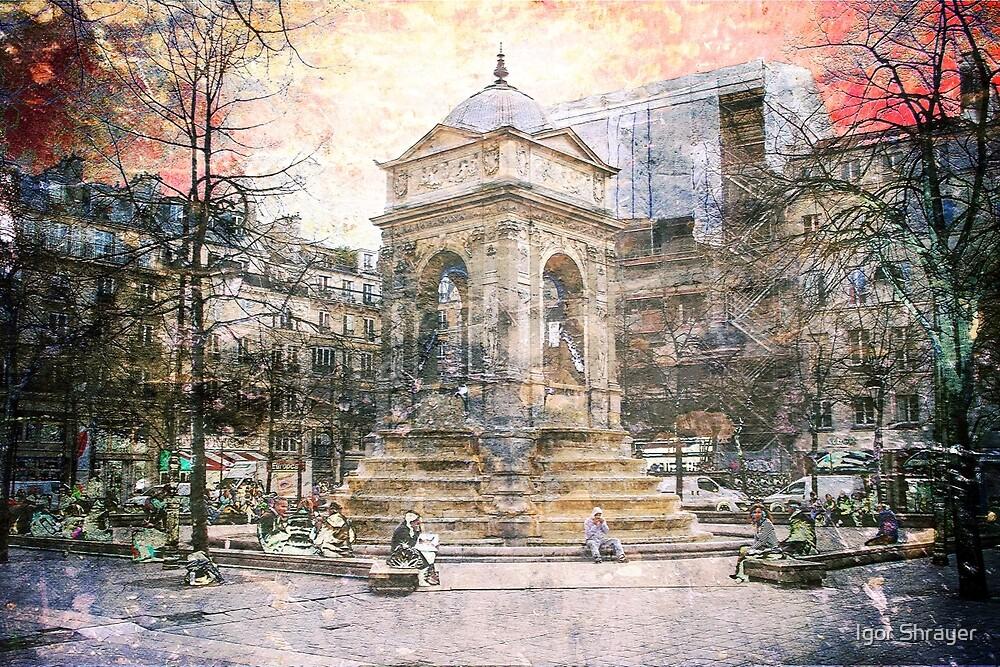 Parisian Mosaic - Piece 27 - Fontaine des Innocents by Igor Shrayer