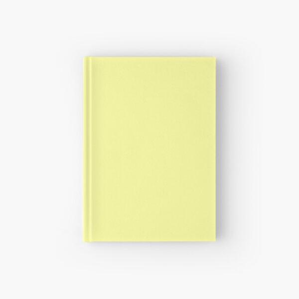 Pastel Yellow Hardcover Journal