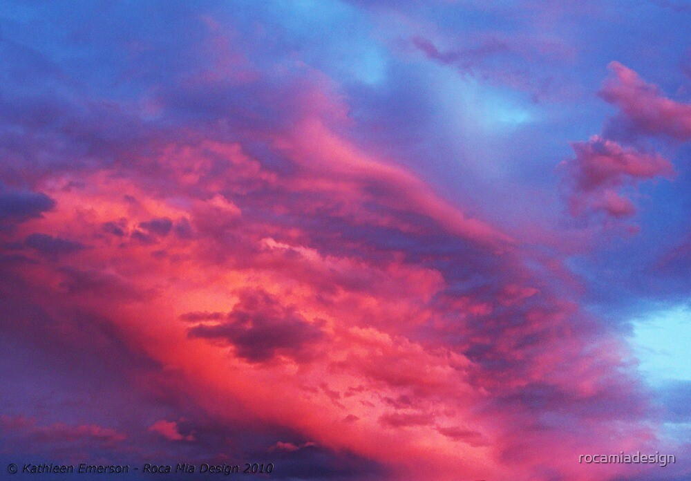 Pink Sunset by rocamiadesign