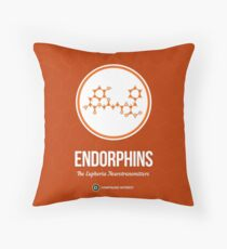 Neurotransmitter Series: Endorphins Throw Pillow